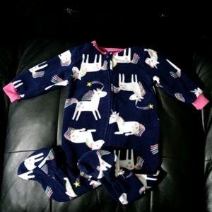 Absorba Unicorn Footie Pajamas WT2